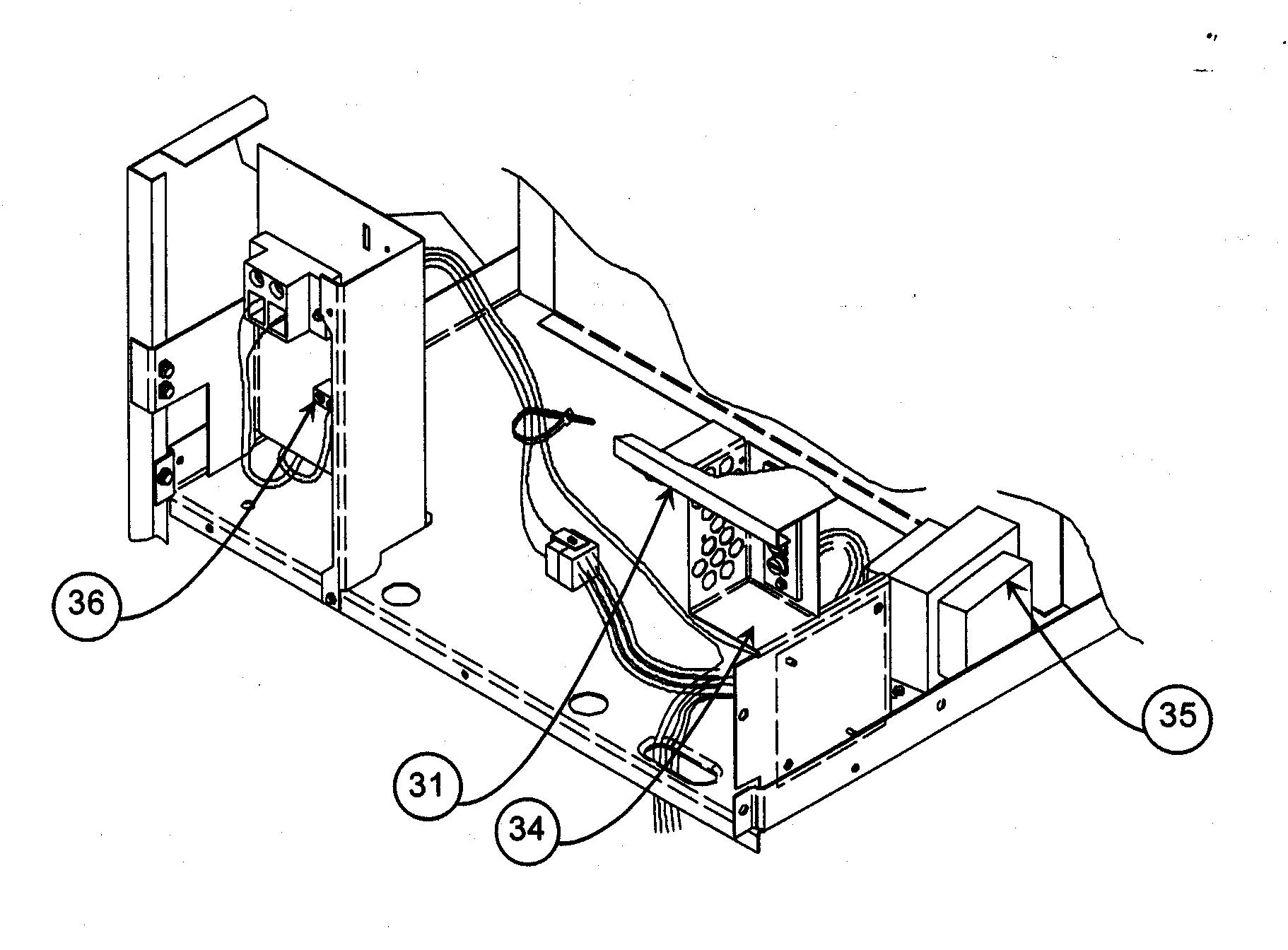 Payne model PF1MNB042000 air handler (indoor blower&evap