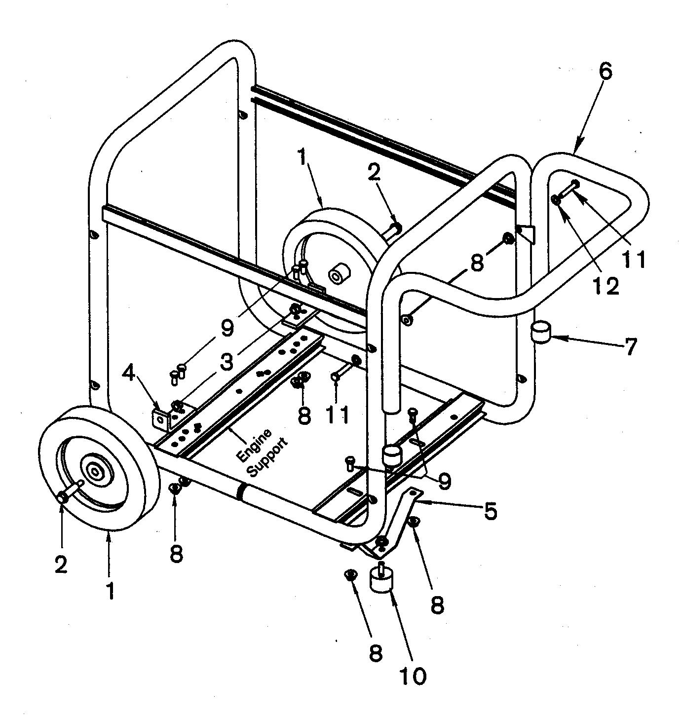 Craftsman model 919670040 generator genuine parts