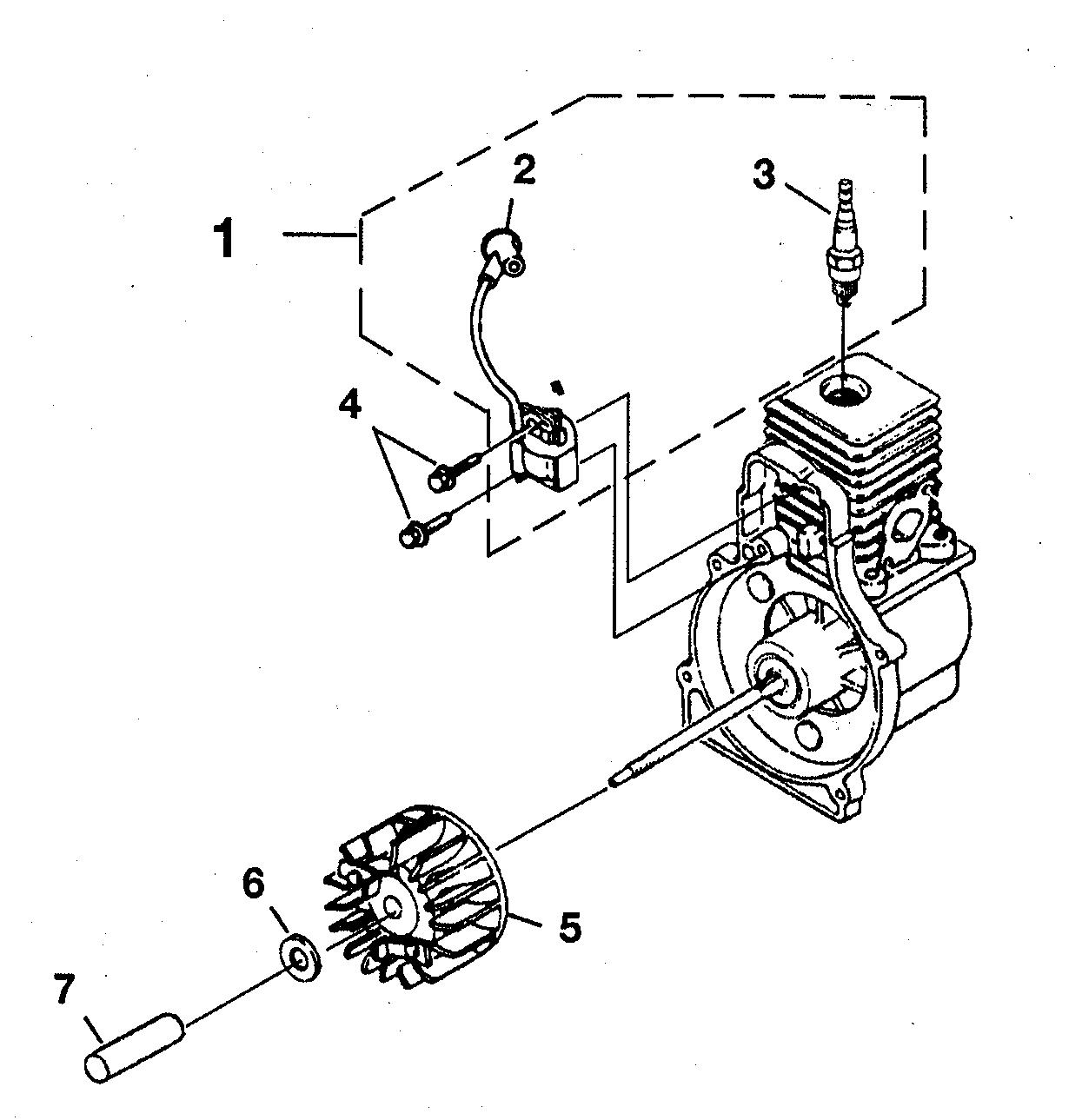 Homelite model UT08930A blower, gas genuine parts