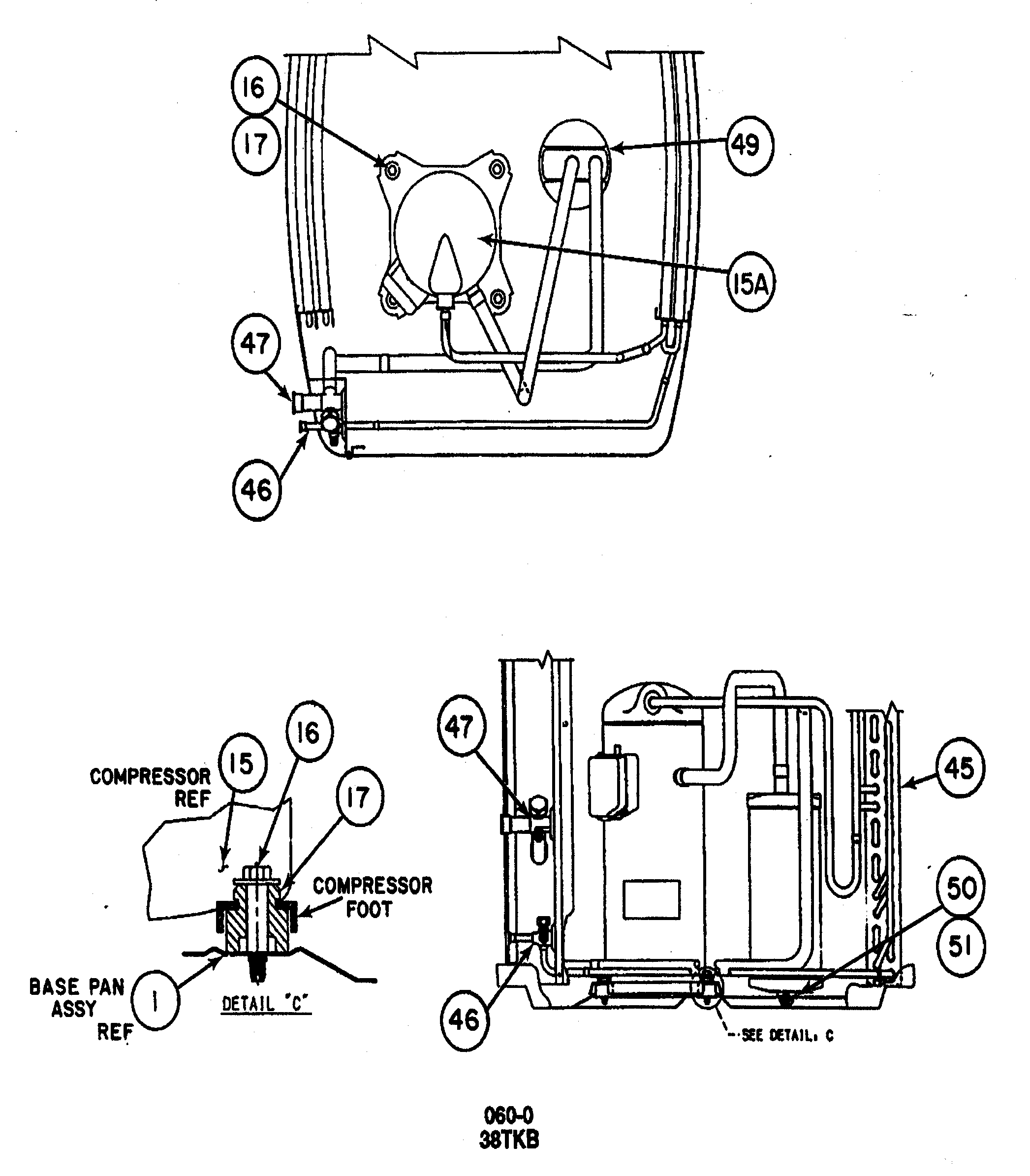 Carrier model 38TKB042 SERIES300 air-conditioner/heat pump