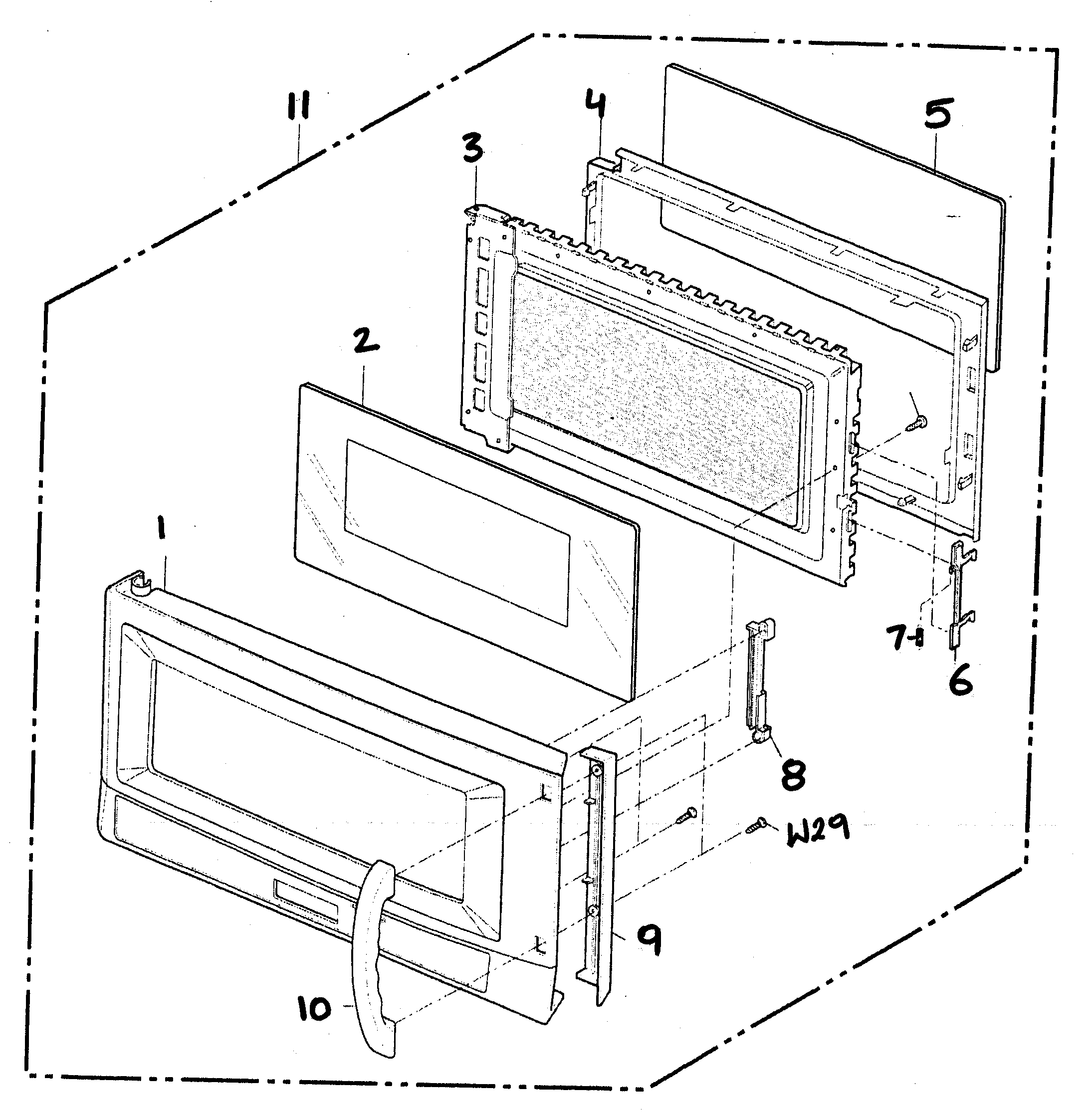 Door Parts Diagram &