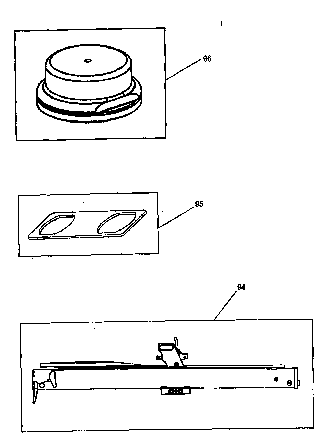 Stanley-Bostitch model 438S2R stapler genuine parts
