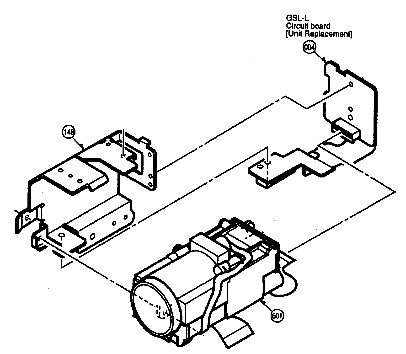 Panasonic model VDR-M53PP digital camcorder genuine parts