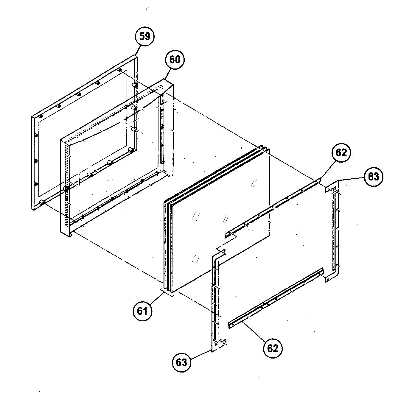 Jvc model AV-48P776 projection/digital 42