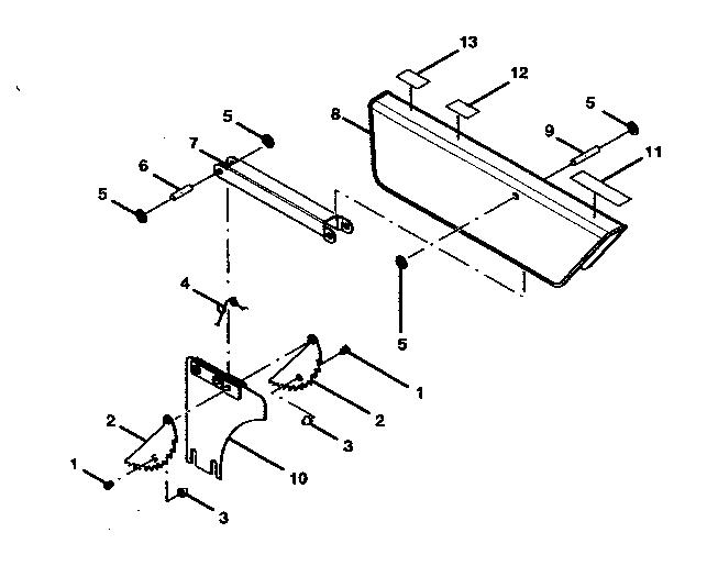 Craftsman model 315218290 table saw genuine parts