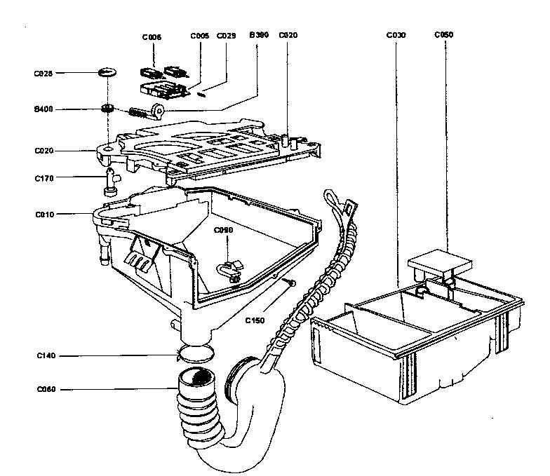 Edgestar model SW5L70D laundry centers/combos genuine parts