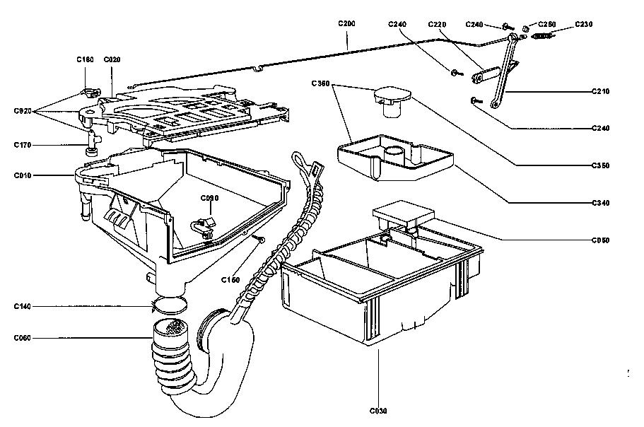 Supra model SW5L40D laundry centers/combos genuine parts