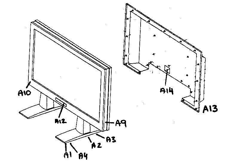 Sylvania model 6842PF (M) plasma television genuine parts