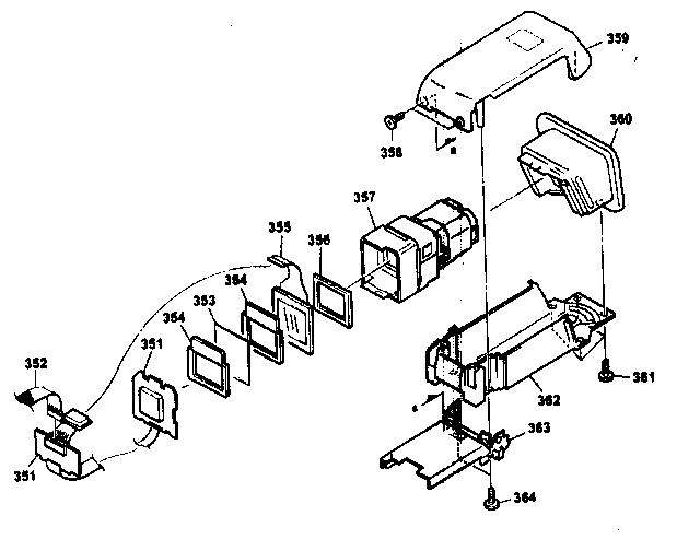 Sony model DCR-TRV900 digital camcorder genuine parts