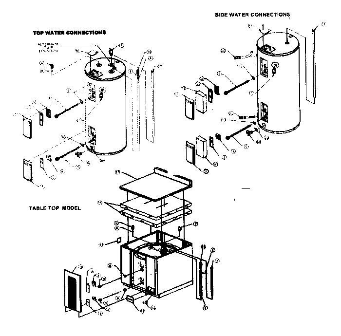 American-Water-Heaters model E2F30LD035V water heater