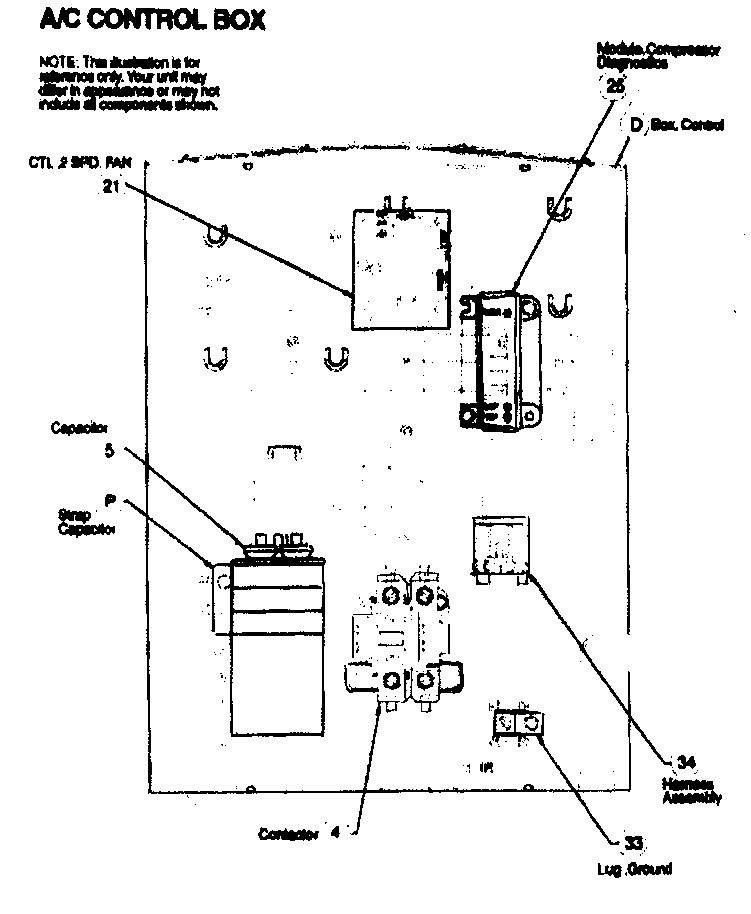 Icp model C4A442GKA100 air-conditioner/heat pump(outside