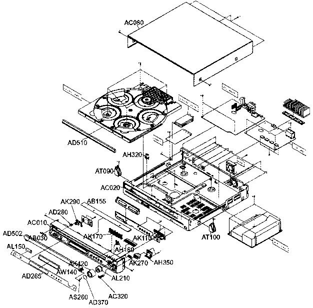 Samsung model HT-Q80 home theatre genuine parts