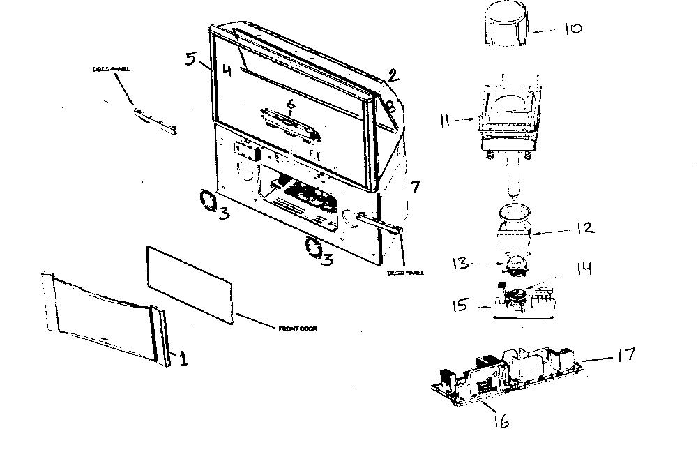 Hitachi model 65F59A projection/digital 42