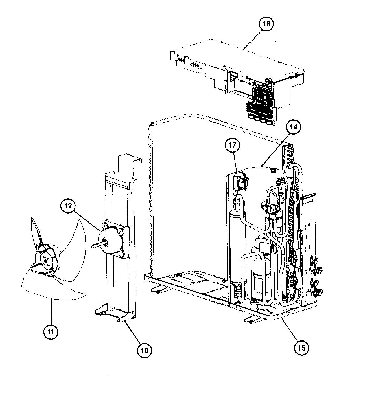 Friedrich model MR24DY3F air-conditioner/heat pump(outside