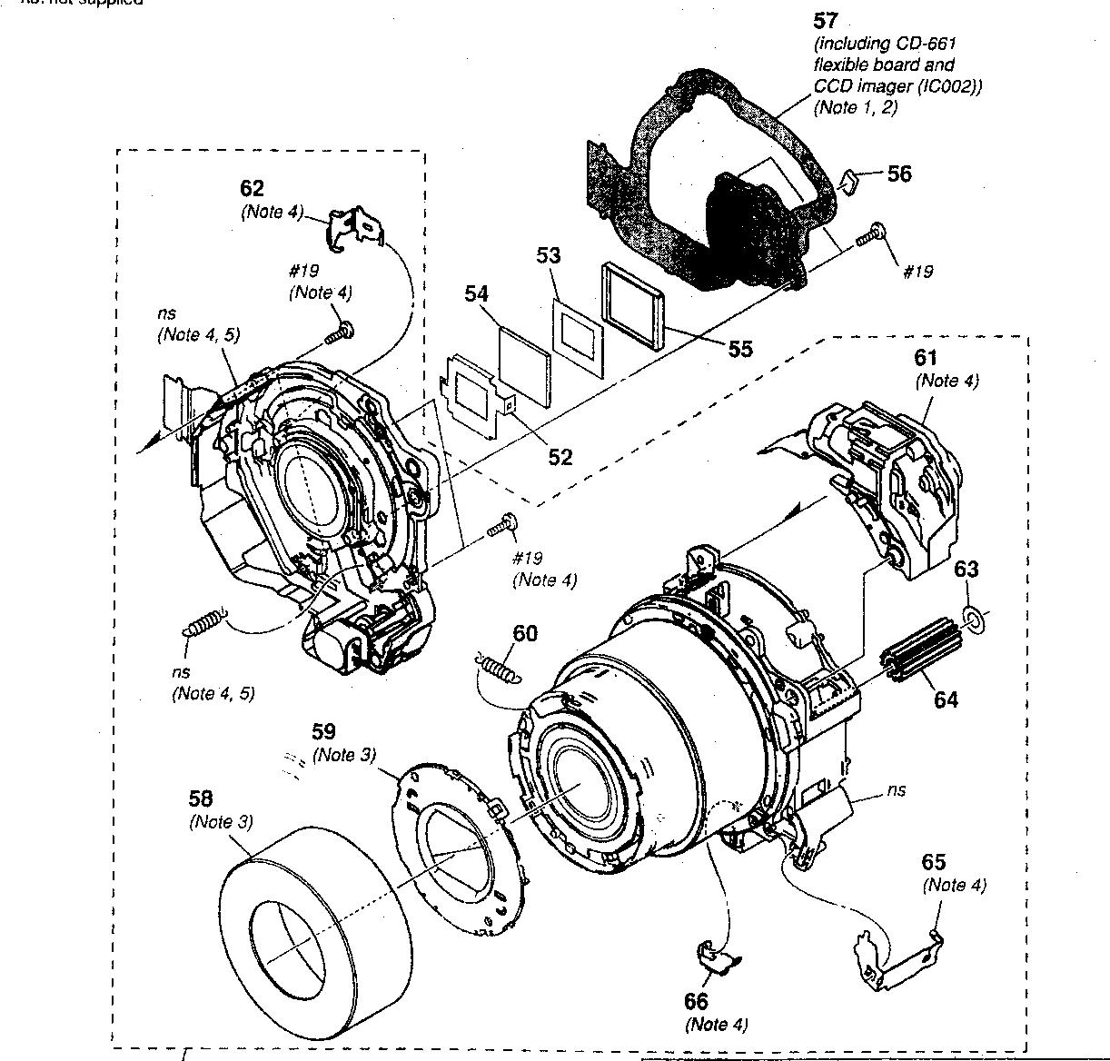 Sony model DSC-N2 cameras, all genuine parts