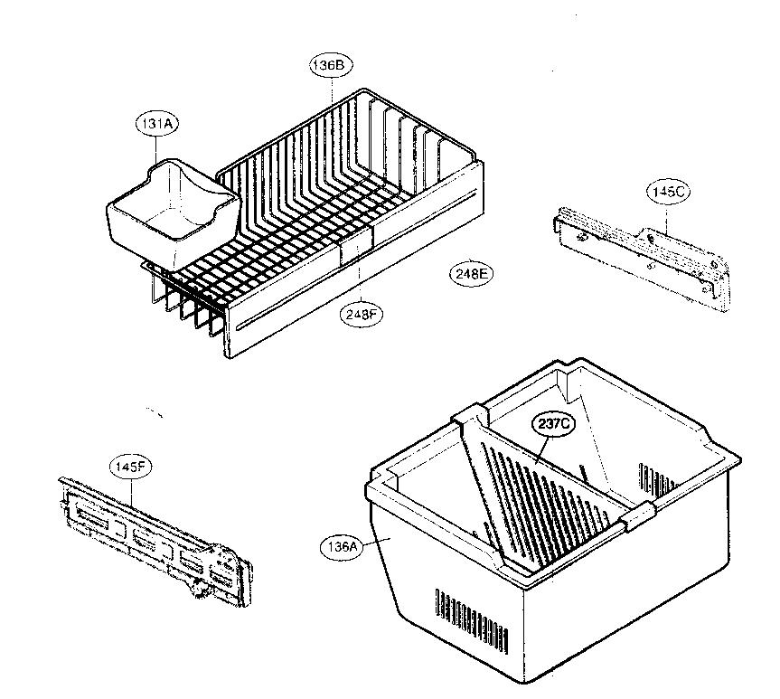Kenmore-Elite model 79577242600 bottom-mount refrigerator