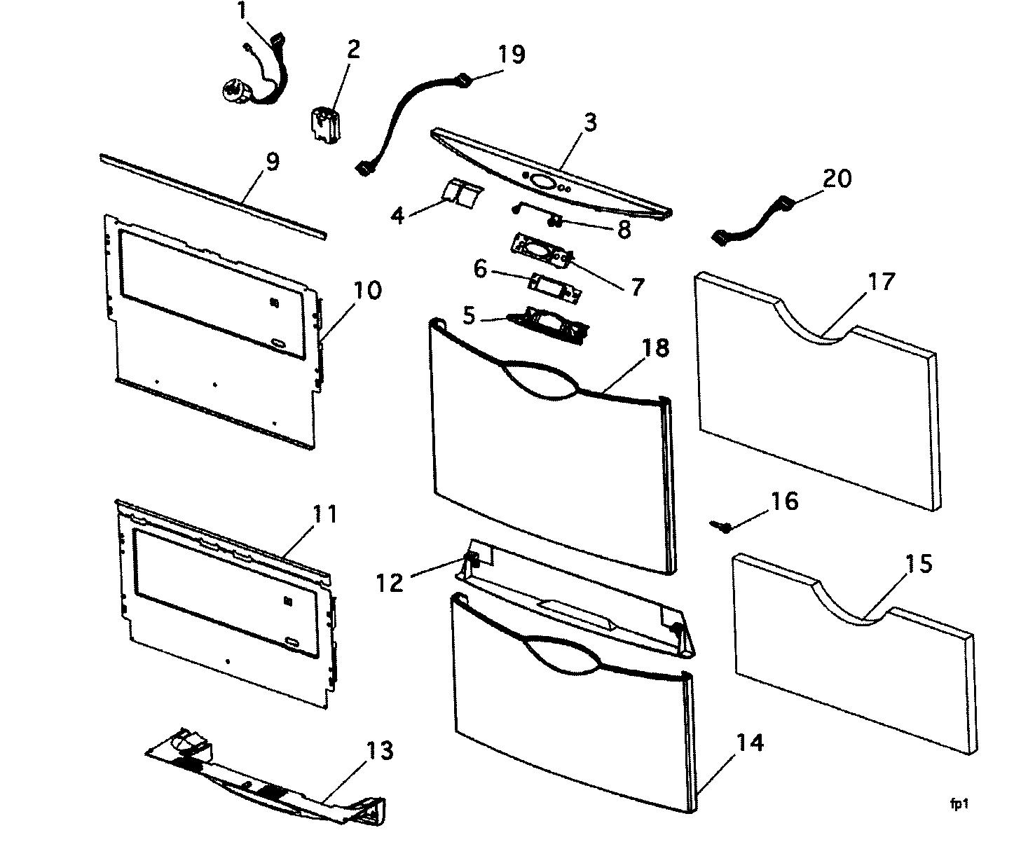 Fisher-Paykel model DD603IH dishwasher genuine parts