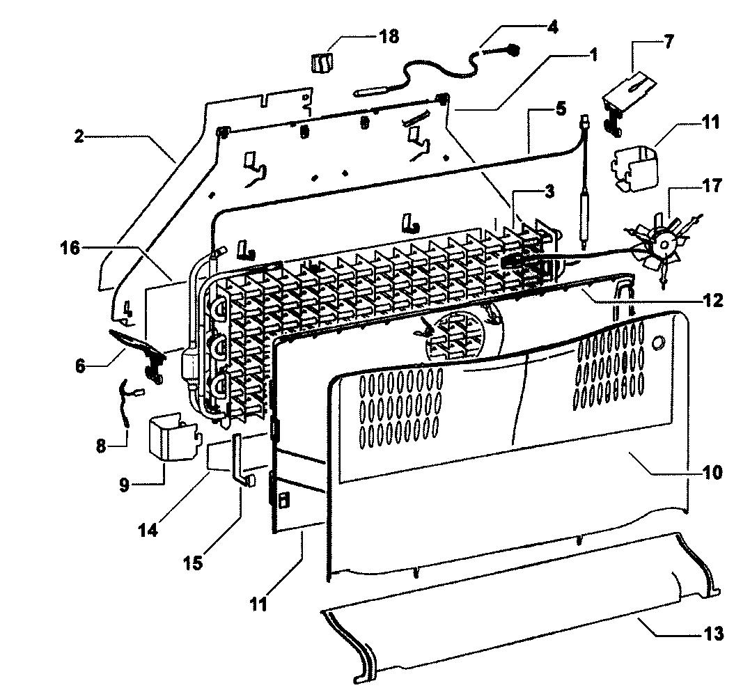 Fisher-Paykel model E522BRXFD bottom-mount refrigerator
