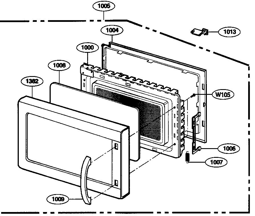 Kenmore-Elite model 72167902600 countertop microwave