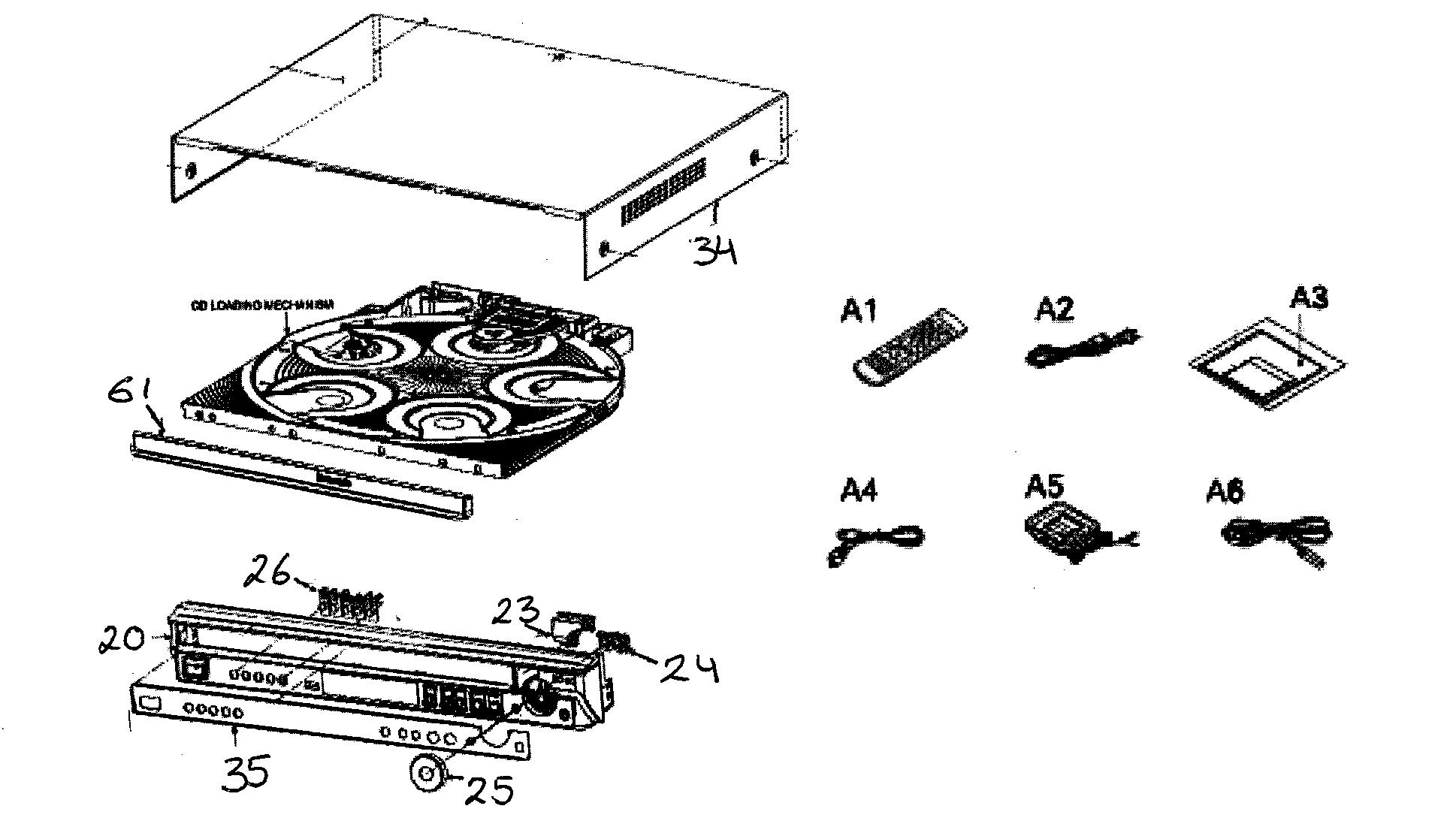Panasonic model SA-PT650 home theatre genuine parts