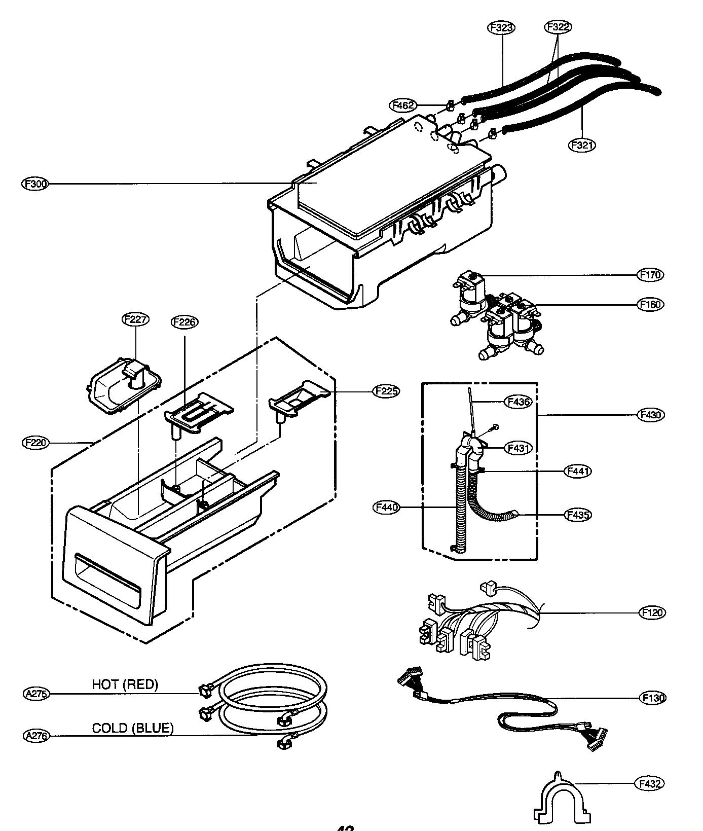 Lg model WM3677HW residential washers genuine parts