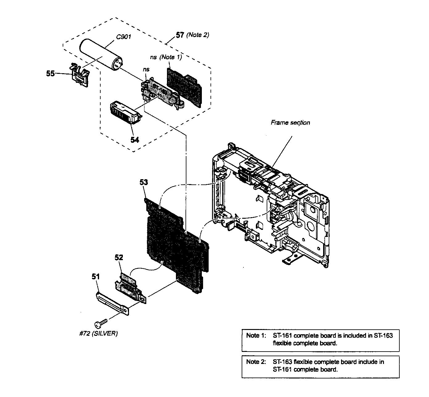 Sony model DSC-T20 cameras, all genuine parts