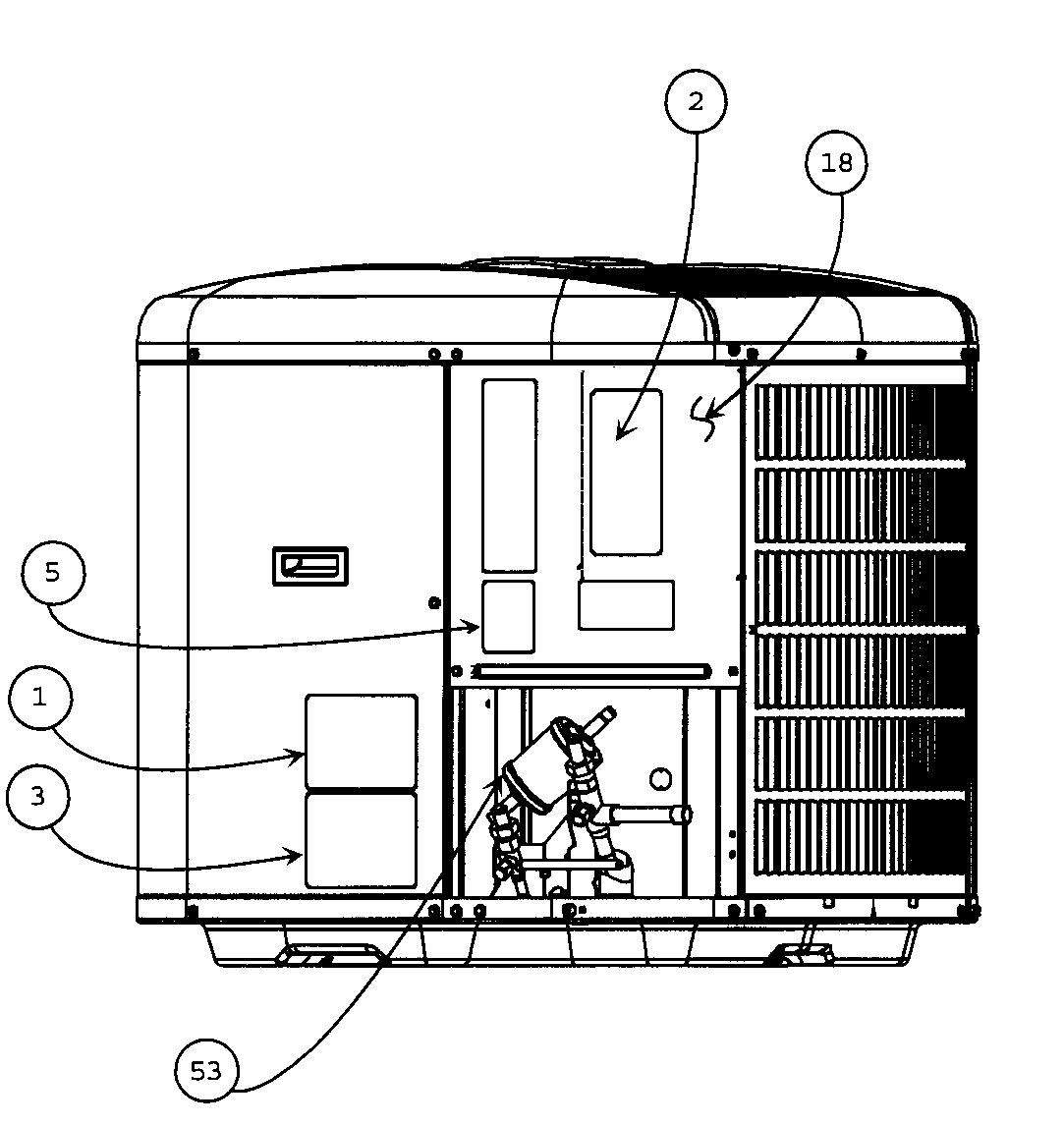 Carrier model 24APA530A0030010 air-conditioner/heat pump