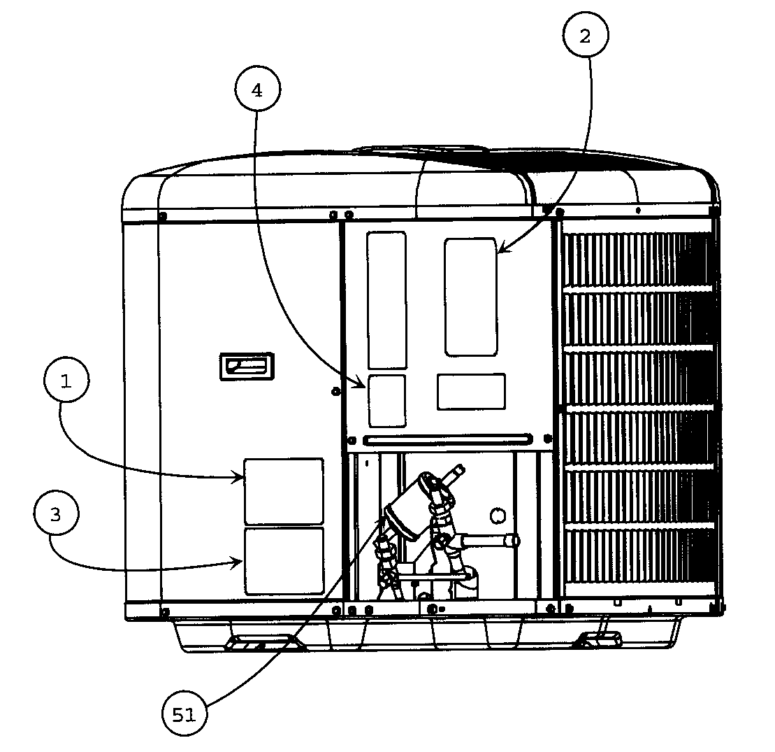 Carrier model 24APA342A0030010 air-conditioner/heat pump