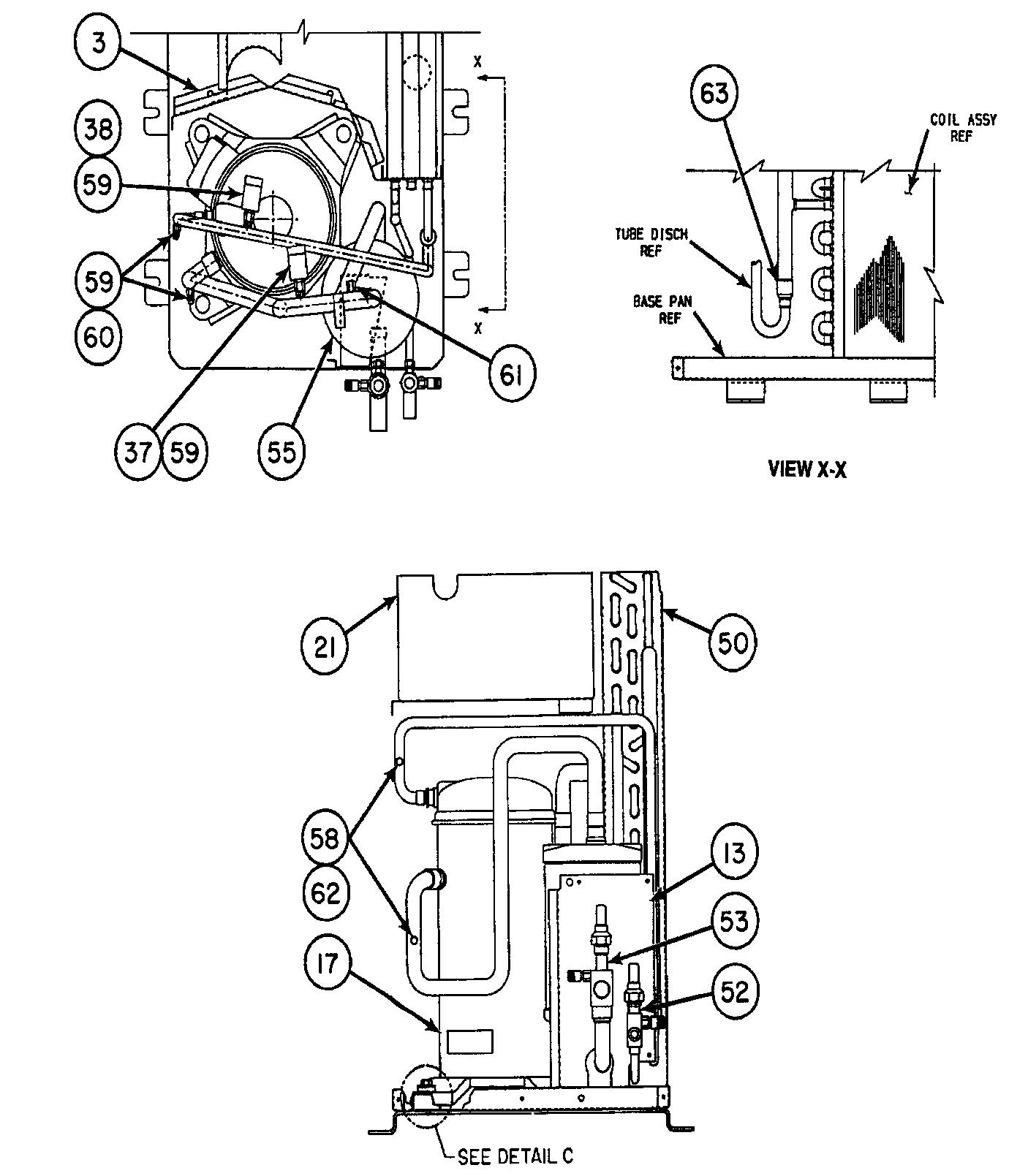 Carrier model 38HDC030310 air-conditioner/heat pump