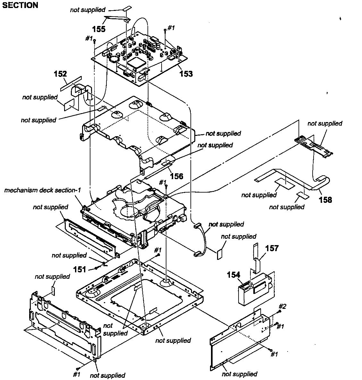 Sony model DAV-IS10 home theatre genuine parts