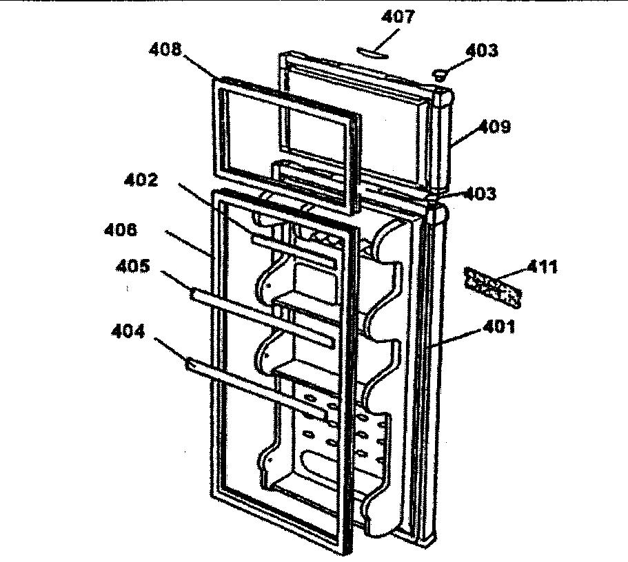 Danby model DPR2262W all refrigerator genuine parts