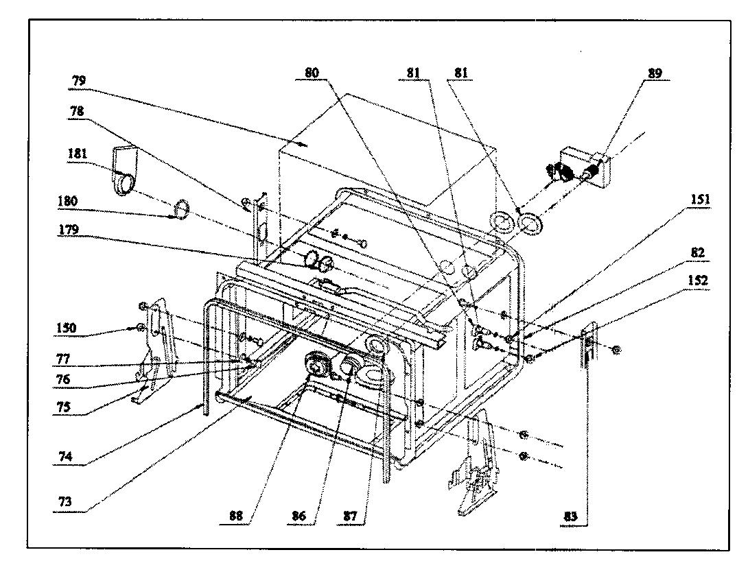 Danby model DDW399W dishwasher genuine parts