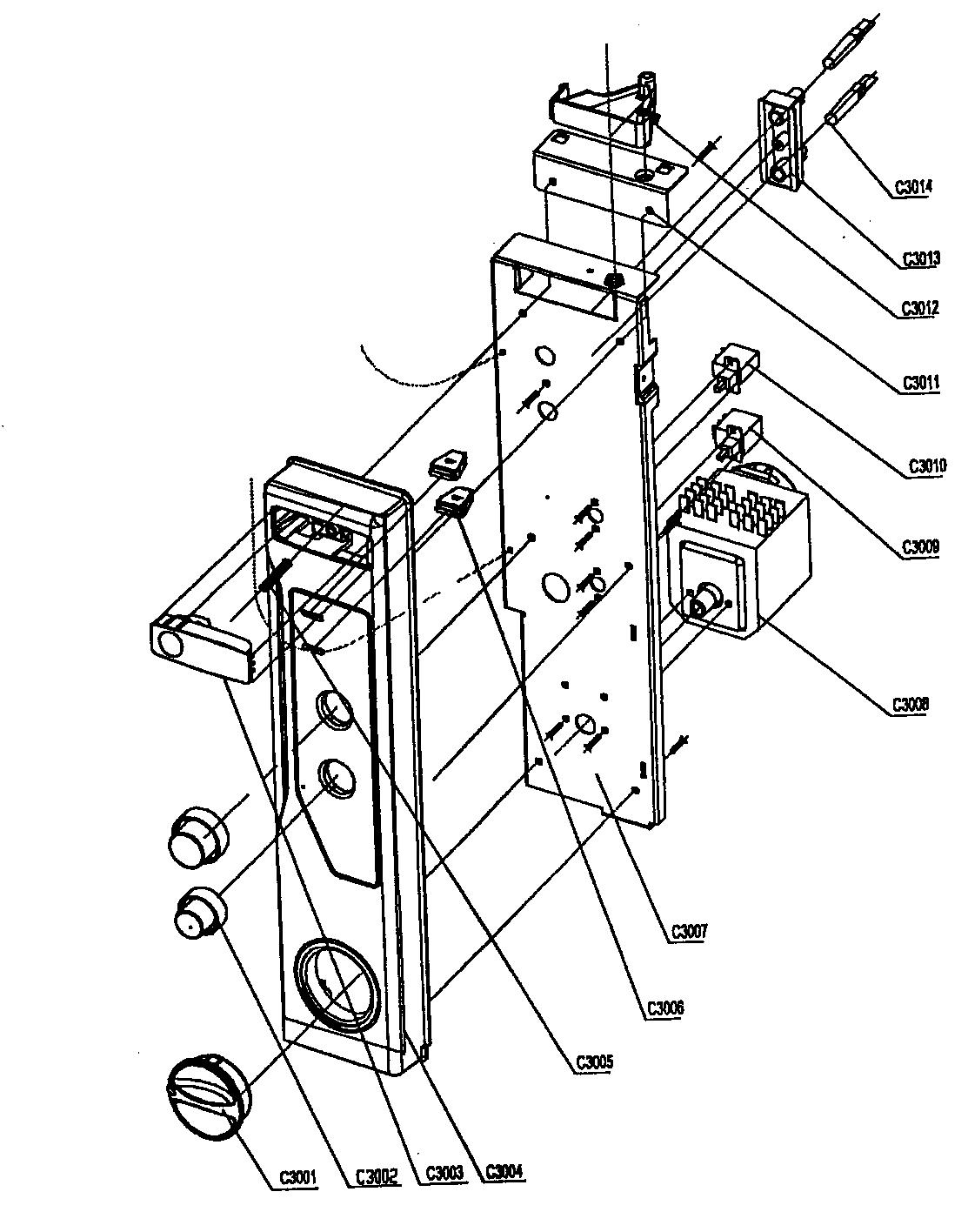 Danby model DDW496W dishwasher genuine parts