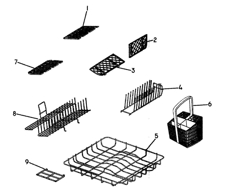 Fisher-Paykel model DD605I-88469A dishwasher genuine parts