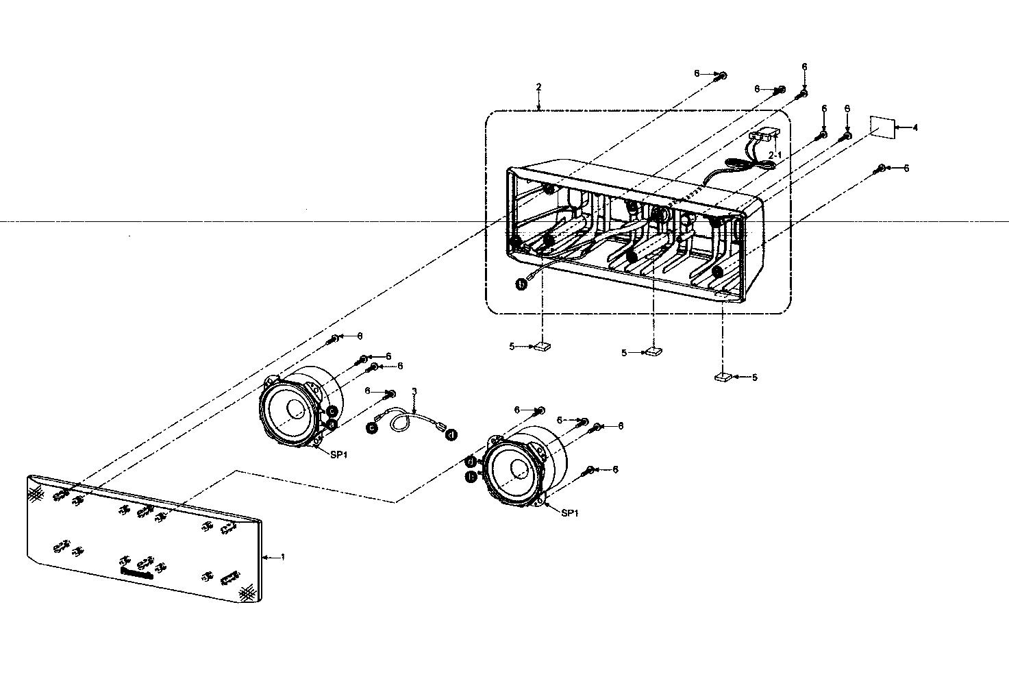 Panasonic model SC-PT960 dvd systems genuine parts