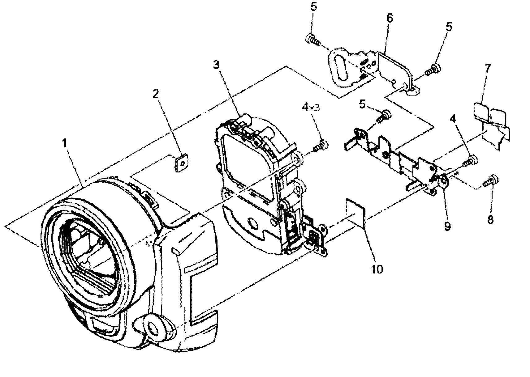 Canon Lens Diagram, Canon, Free Engine Image For User