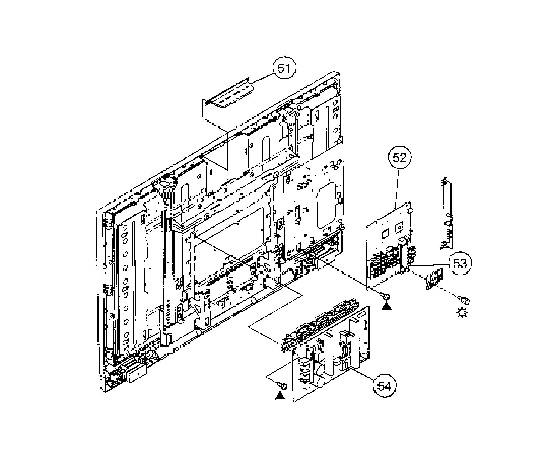 Sony model KDL-42V4100 lcd television genuine parts
