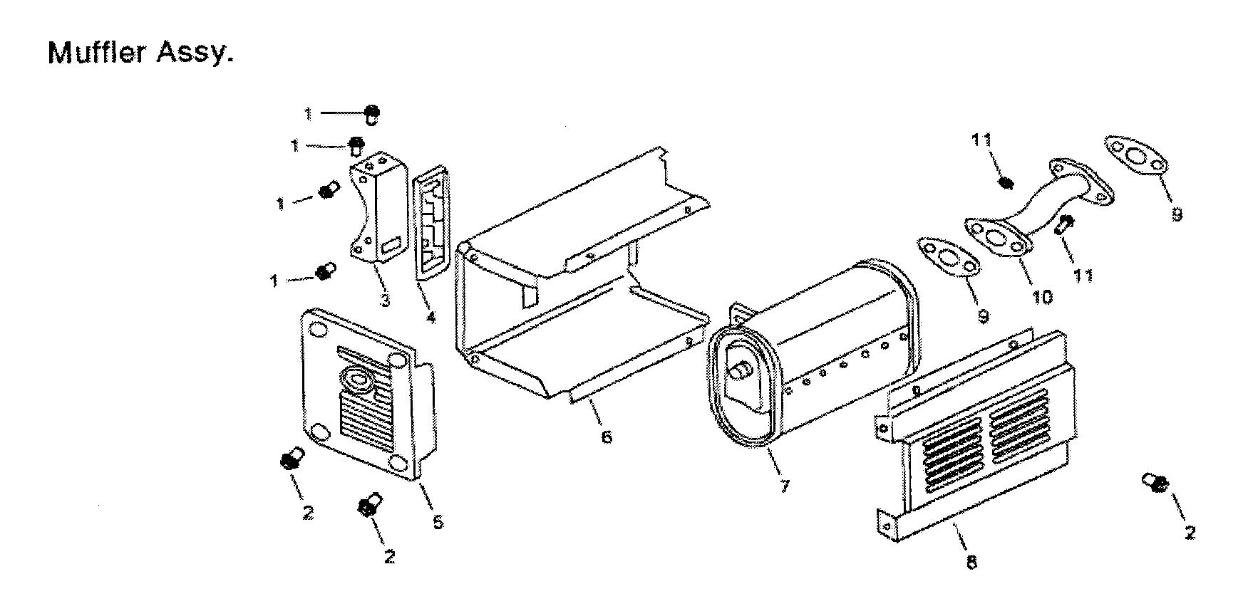 All-Power model APG3009 generator genuine parts