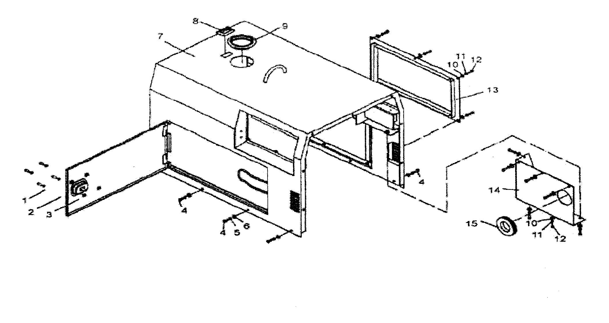 All-Power model APG3202D generator genuine parts