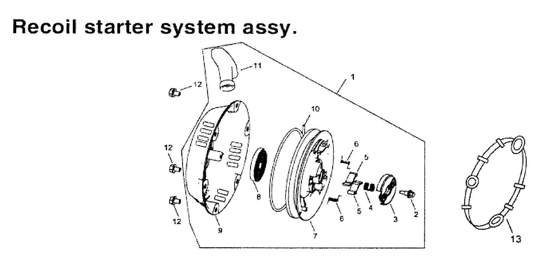 Gentron model GG3500 generator genuine parts