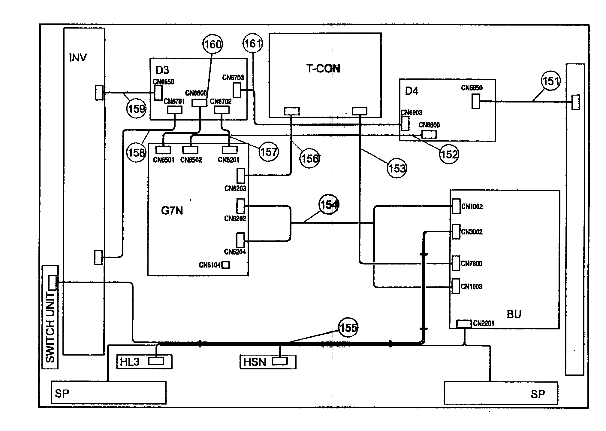 Sony model KDL-52Z5100 lcd television genuine parts