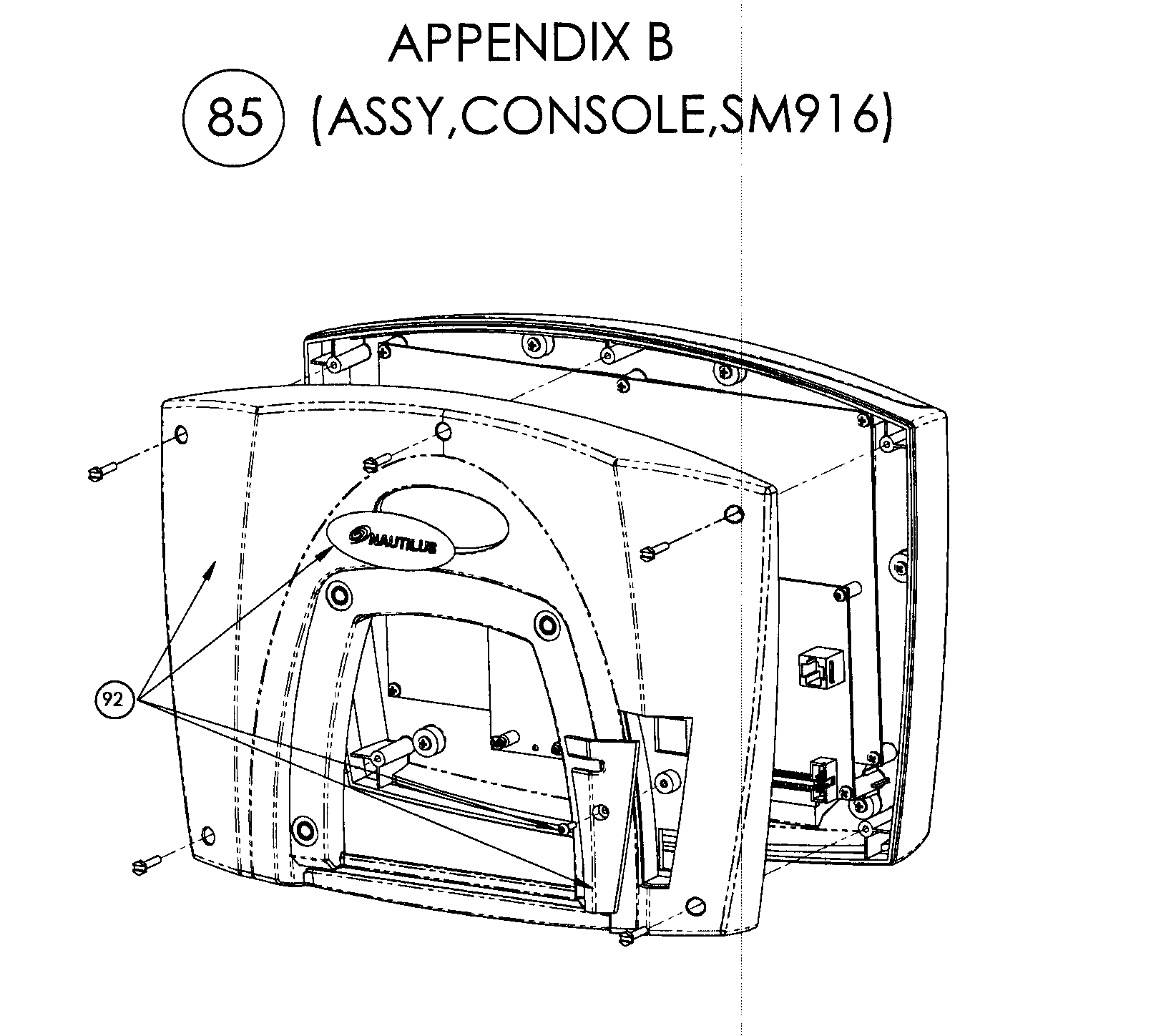 Stairmaster model SM916 stepper genuine parts