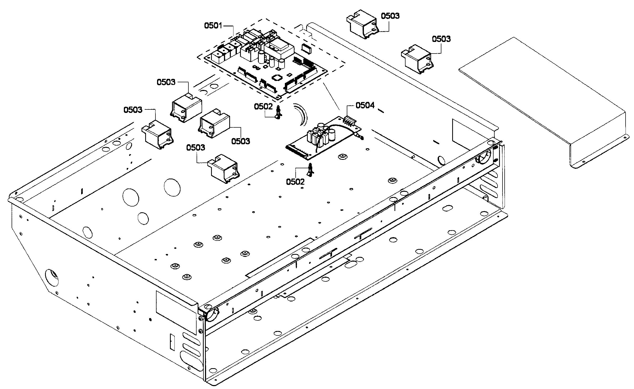 Thermador model PRD366GHU/01 range, electric/gas genuine parts