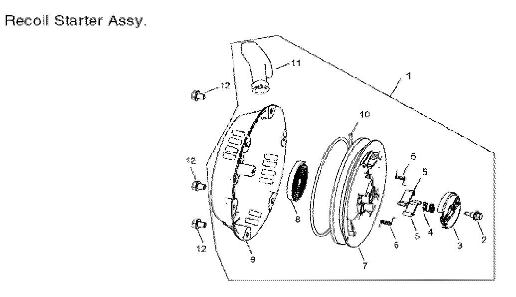 Steele model SP-GG600 generator genuine parts