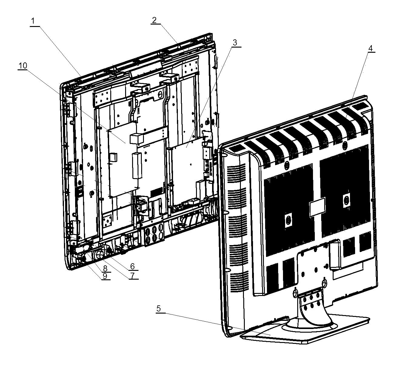 Proscan model 42LA45H lcd television genuine parts