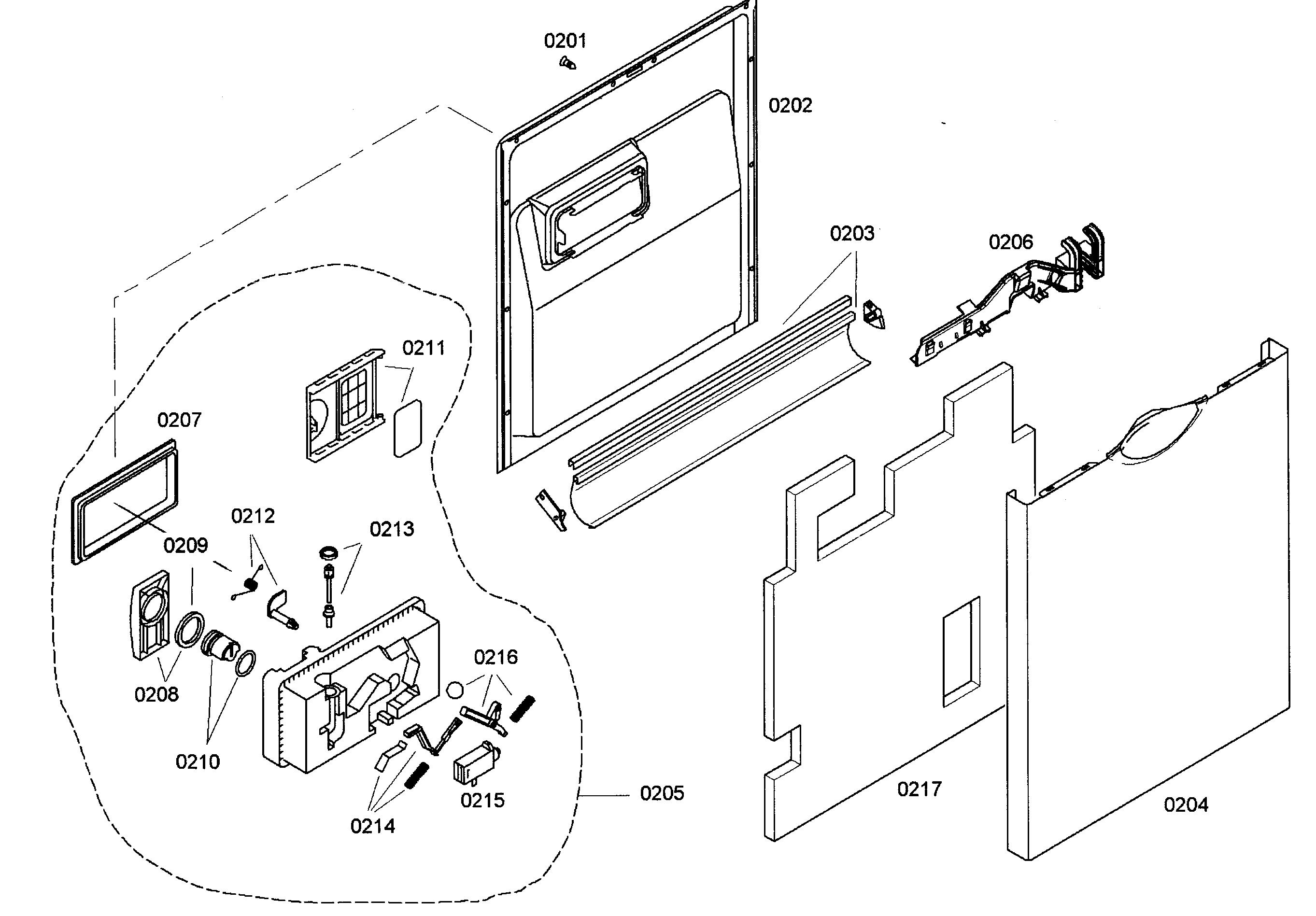 Bosch Dishwasher Door Panel, Bosch, Free Engine Image For