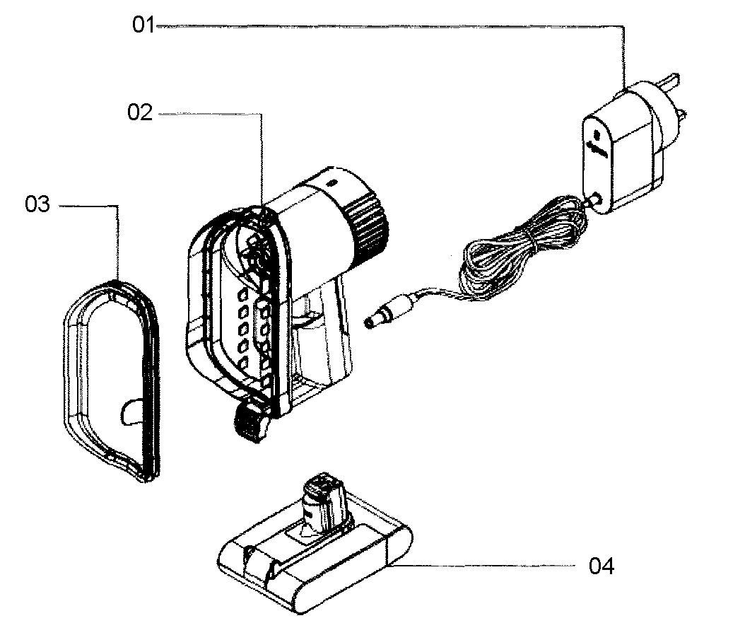 Dyson model DC31 vacuum, hand-held genuine parts