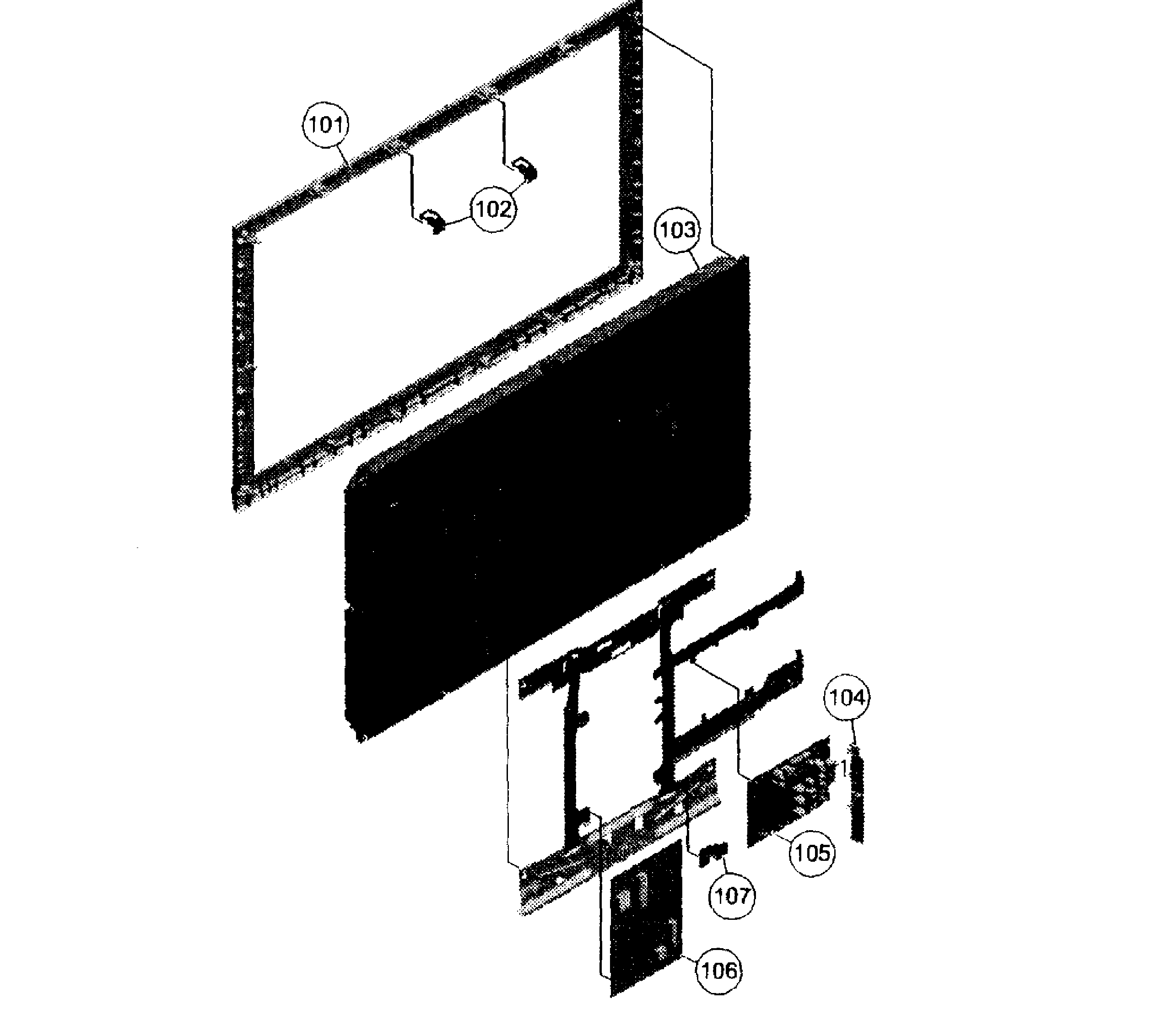 Sony model KDL-32BX320 lcd television genuine parts