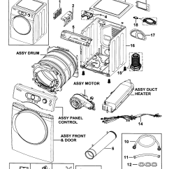 Wiring Diagram For Samsung Dryer Motte And Bailey Labeled Parts Model Dv338aewxaa0000 Sears