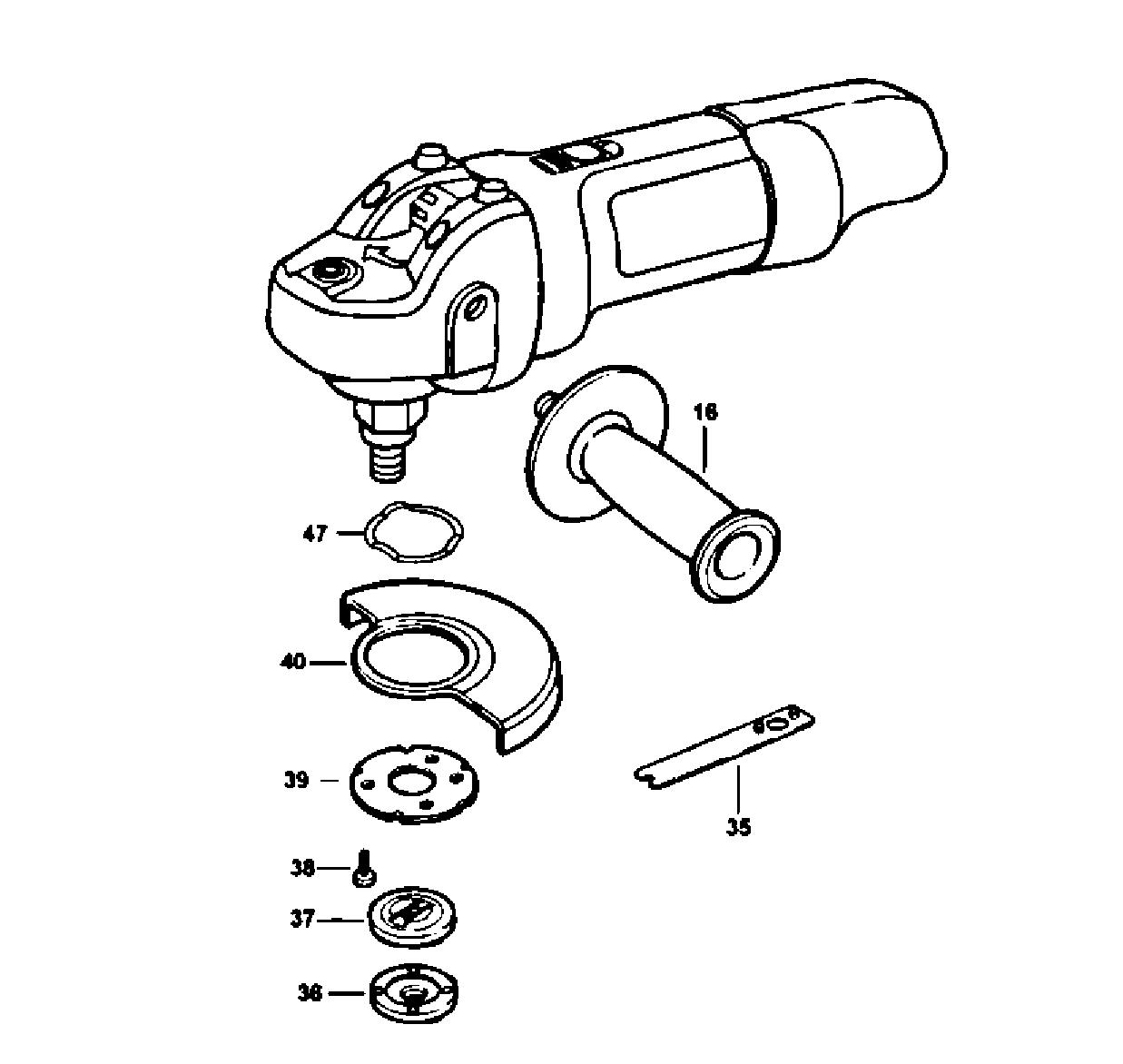 Craftsman model 900245430 grinder angle genuine parts